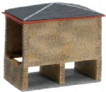 N8084  Hornby Lyddle End Covered coal shed -